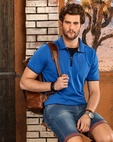 Confecção de Camisas Polo e Camisetas Masculinas SC - Colisão 1fe13e3f8e876